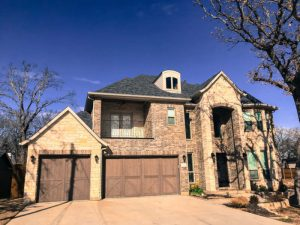 SWAT Roofing grapevine tx shows you a photo of a roof repair.